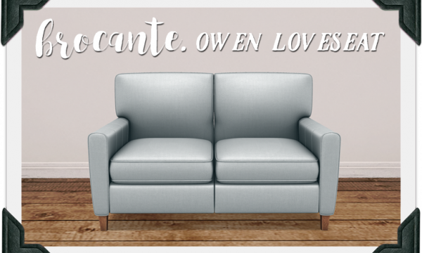Owen Loveseat. PG: L$249. Adult: L$499.
