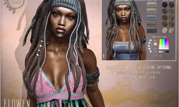 Elowen Hair. ★ L$300 for pack.