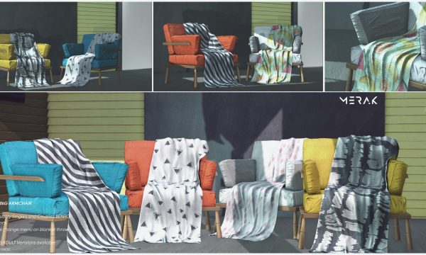 Blooming Armchair. PG: L$295 each. Adult: L$495 each.