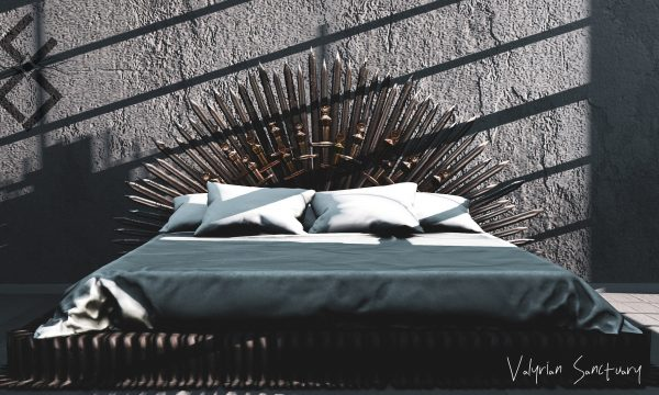 Valyrian Sanctuary. Three options: PG, L$1,200 / Adult, L$2,200 / Poly, L$3,200. Demo available at venue.