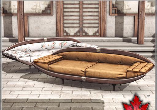 Kumiko Courtyard & Lounging Couch. Courtyard - Adult: L$750. Courtyard - PG: L$550. Couch Adult: L$600. Couch PG: L$425.