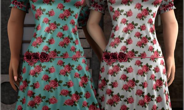 Roselia Dress. L$199 each / Fatpack is L$750. ★ 🎁