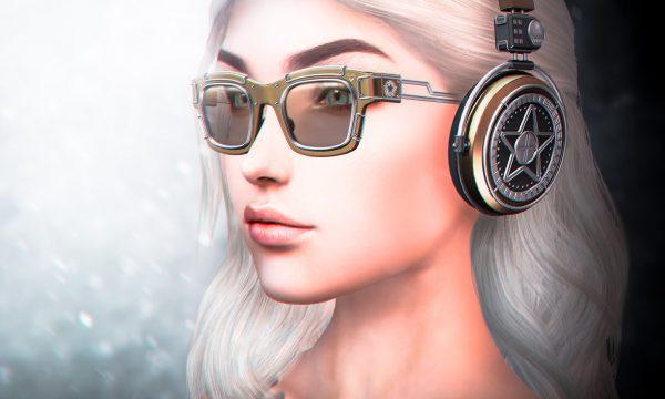 Rockstar Sunglasses & Headphones.  Sunglassses is L$195 each. Headphones is L$195 each. Fatpacks are L$445 each.