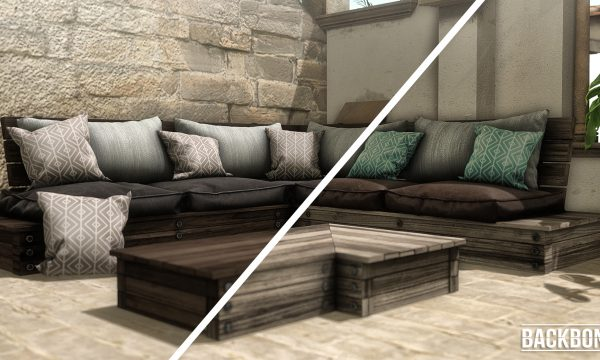 Patio Set. Set - PG is L$499. Adults sets vary between L$1,299 to L$1,999.