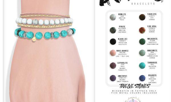 Avery Bracelets. L$250 each / Fatpack is L$850.
