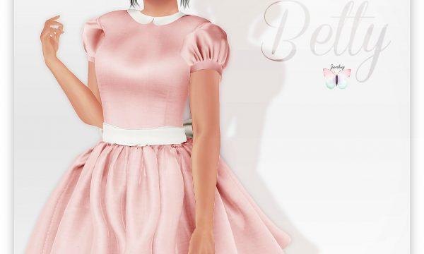 Betty Dress. L$395 each.  🎁
