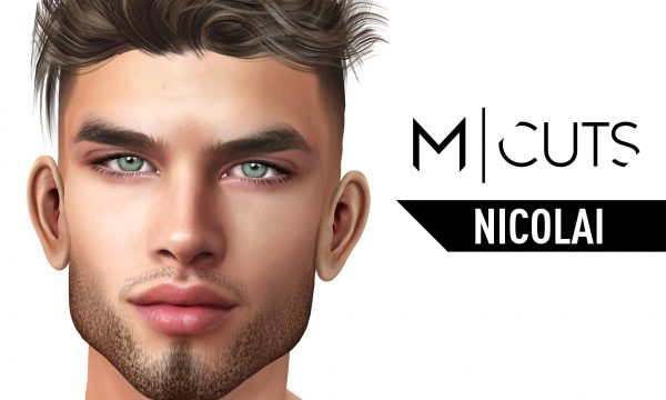 Nicolai Hair. L$320 per pack / Fatpack is L$1,020. ★ 🎁