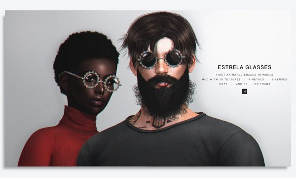 Estrela Glasses. L$399. Demo Available. ★