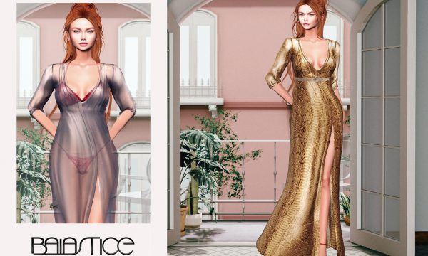 Nia Maxi Dress. L$345 each. Fatpack is L$2,070. Demo available. ★