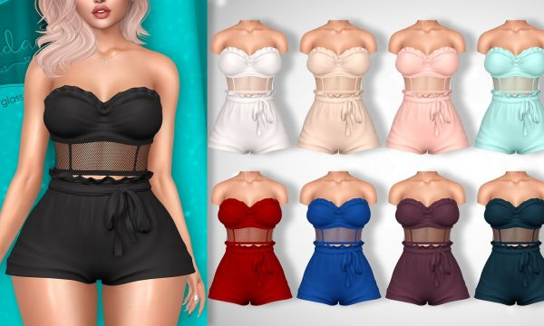 Jenna Romper. L$299 each. Fatpack is L$1,299. Demo Available. ★