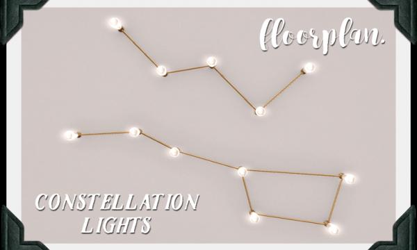 constellation light. L$100 each.
