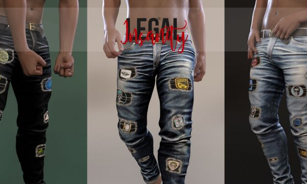 Jett Denim. L$330 each. Fatpack is L$1,500. Demo Available. ★