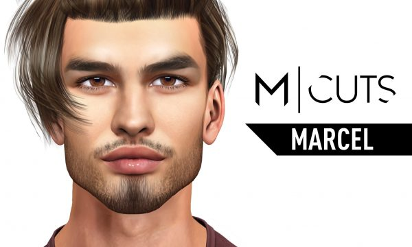 Marcel Hair. Packs are L$320 each. Fatpack is L$1,020. Demo available. ★