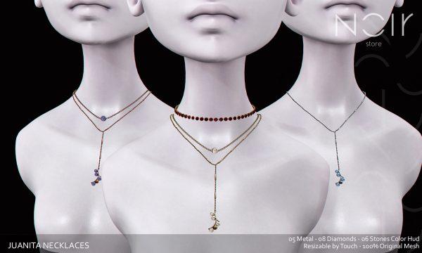 Juanita Necklaces. L$199.