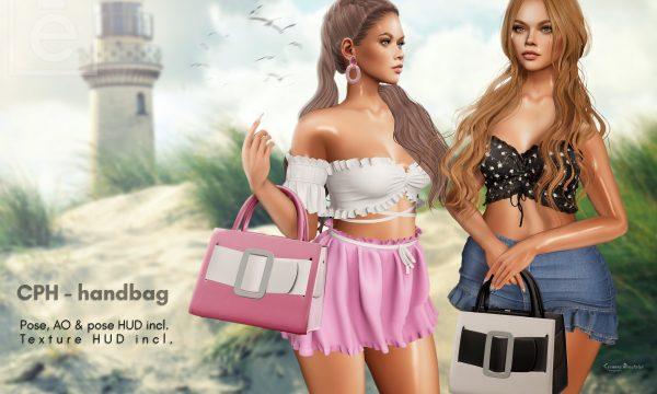CPH handbag. L$379. Demo Available. ★