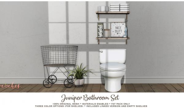 Juniper Bathroom Set. L$215.