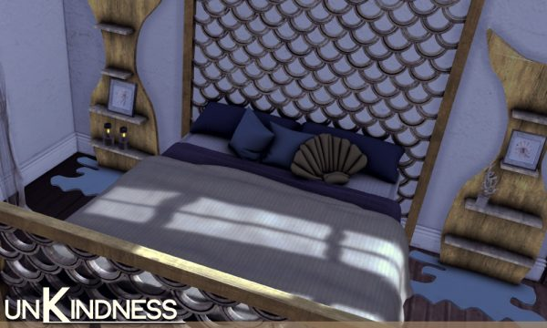 Mermaid Bed Set. PG is L$499. Adult is L$699.