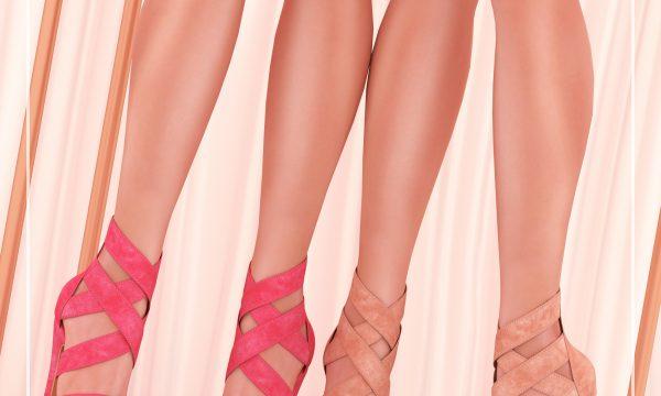 Mayomi Heels. Individual L$250 each. Mini Packs L$400. Fatpack is L$1,500.