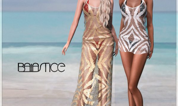 Maxi Tank Dress. Individual L$245 each | Fatpack L$1,715. Demo Available.