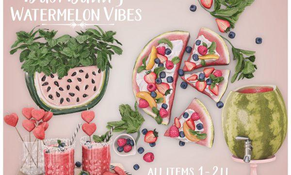 Watermelon Vibes. L$350.