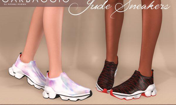 Jude Sneakers. Individual L$99 each | Mini Pack L$299 each | Fatpack L$499.