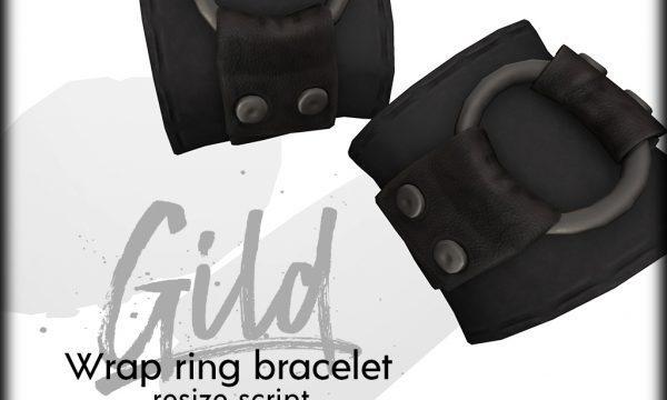 Wrap Ring Bracelet. Individual L$220 each. Fatpack is L$580.