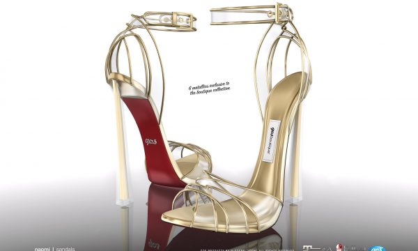 Naomi Sandals. Individual L$295 each | Fatpack L$1,295. Demo Available ★