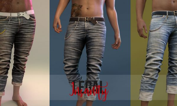 Lennon Denims. Individual L$330 each | Fatpack L$1,500. Demo Available ★