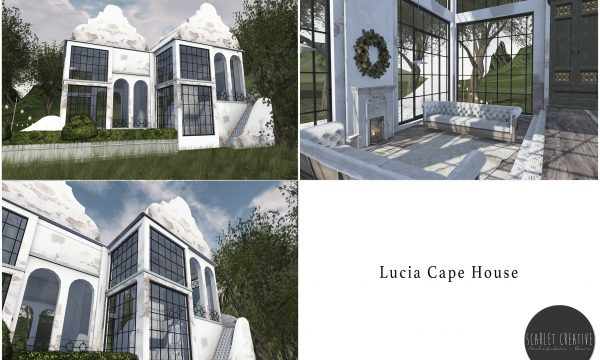 Lucia Cape House. L$199.