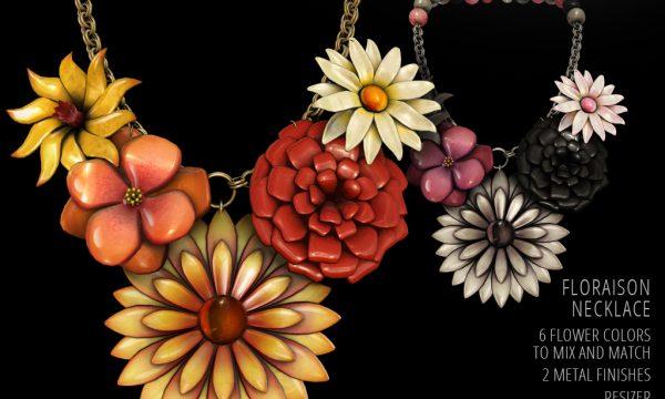 Floraison Necklace. L$349.
