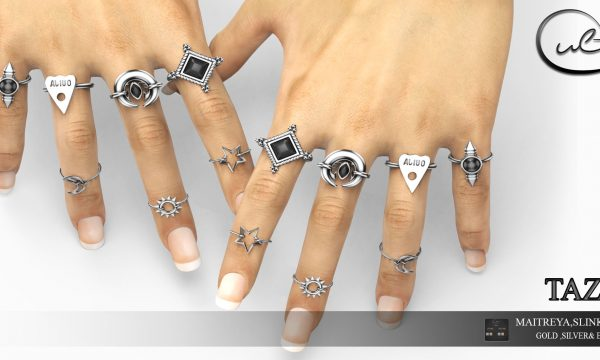 Tazza Rings. L$269. Demo available ★.