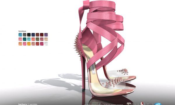 Barbara Sandals. L$295 each. Fatpack is L$1,295. Demo available ★.