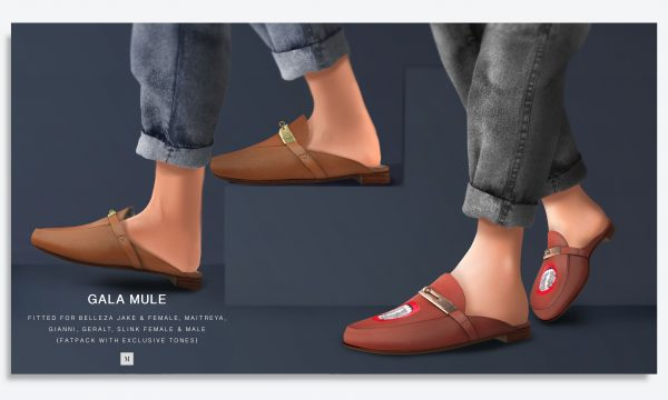 Gala Mule. L$199 each. Fatpack is L$999. Demo available ★.