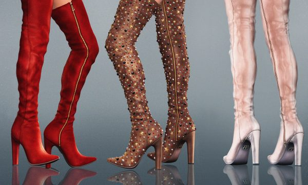 Baiastice - Alyssa Thigh High Boots. Individual L$265 | Fatpack L$2,385 Demo available.