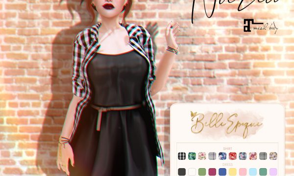 Belle Epoque - Nuria. L$350. Demo available.