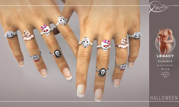 Cult - Halloween Rings. L$249 Demo Available ★.