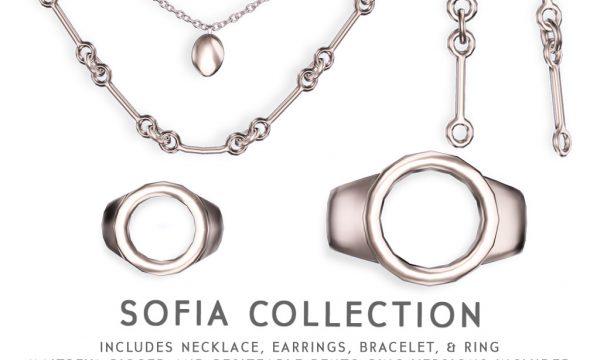 Cae - Sofia Set. Individual L$245 - L$395 | Fatpack L$595.