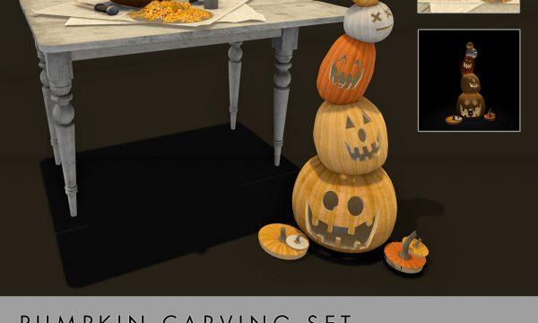Convair - Pumpkin Carving Set. L$150.