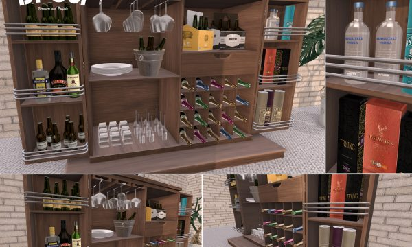 Di'Cor - Naomi Bar Cabinet. L$800.