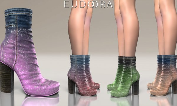 Eudora3D - Kaiah Boots. L$400. Demo available ★