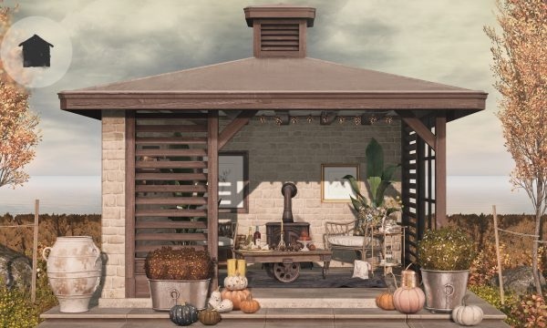 Homestead - The Summerhouse Gazebo.  Individual L$300 each.