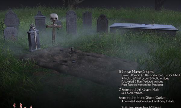JIAN - Haunted Graveyard. L$600.
