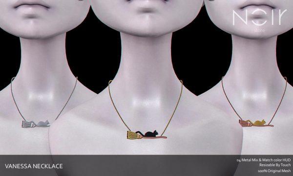 Noir Store - Vanessa Necklace. L$199.