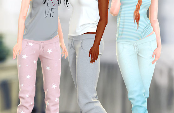 neve - Bunk Top & Dorm Pants. Individuals L$200 | Fatpacks L$600 each. Demo available ★