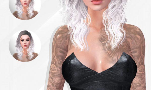 Phoenix - Alina Hair. Color Sets L$350 | Ombre & Dipped Sets L$450 | Essentials L$470 | Fatpack L$1500 Demo available ★.