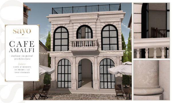 SAYO - Architecture Cafe Amalfi. L$451.