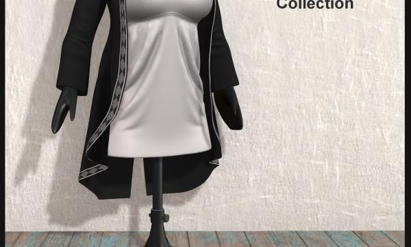!APHORISM! - Sarah Dress & Coat. Individual  L$249 - L$279 | Fatpack L$995 - L$1099 Demo Available ★.