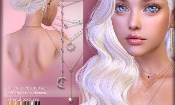 AvaWay - Sky Necklaces Set. L$250.