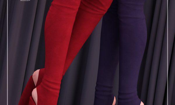 [BREATHE] - Kisora Heels & Suzana Heels. Individual L$250 | Mini Pack L$400 | Fatpack L$1500 Demo Available.