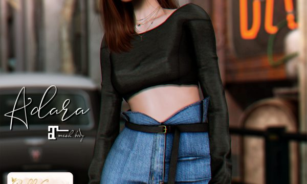 Belle Epoque - Adara Top & Skirt. Individual L$149 - L$199 | Fatpack L$1999 Demo Available ★.